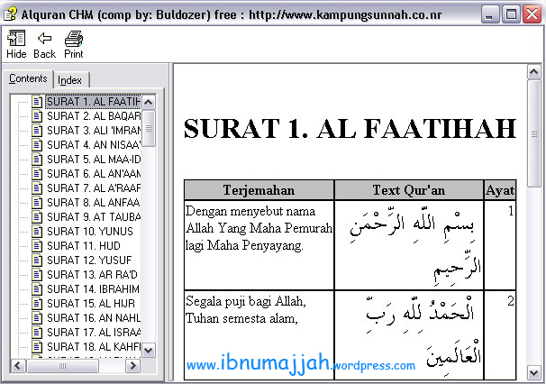 Al-Qur'an dari KampungSunnah