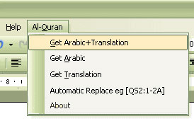 Qur'an in Word
