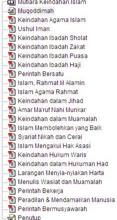 Mutiara Keindahan Islam