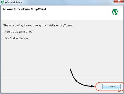 Cara Install  µTorrent
