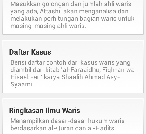 Kalkulator Waris At-Tashil for Android